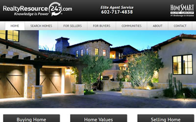 Realty Resource 24-7 Web Design