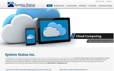 System Status Inc Web Design